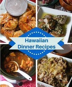 Delicious local style Hawaiian Dinner recipes. Get more island style recipes here.