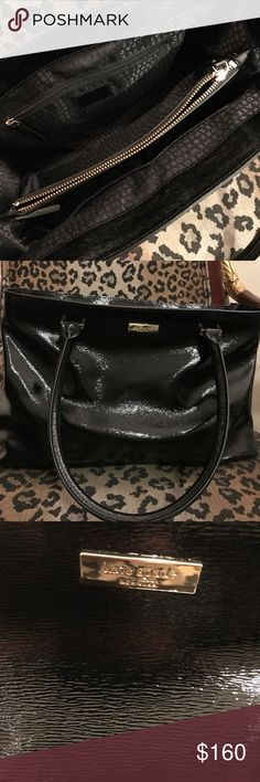 Kate spade New York black purse This Kate Spade New York satchel an around-the-clock favorite for work and weekend. kate spade Bags Shoulder Bags
