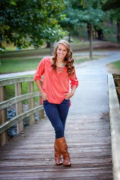 Merritt Senior Portrait on Bridge / Senior Portrait / Senior Picture Ideas / 2014 Senior Pictures / Senior Year / Senior Pics by Jennifer Bieniek Senior Pics, Creative Senior Pictures, Senior Year Pictures, Senior Portraits Girl, Senior Girl Poses, Senior Picture Outfits, Senior 2015, Family Pictures, Senior Photography