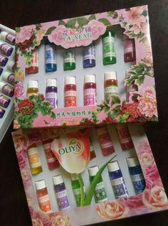 Kit de 12 Óleos Essenciais para Fabricação de Sabonetes Artesanais