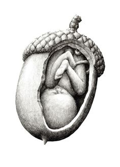 Redmer Hoekstra makes drawings that are perhaps the illustration-equivalent of a Mash-Up, throwing together two unrelated things, images or objects to. Pencil Art, Pencil Drawings, Art Drawings, Pencil Shading, Art Bizarre, Art Doodle, Pregnancy Art, Pregnancy Tracker, Pregnancy Drawing
