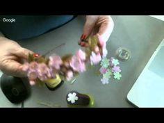 Чудесная веточка Сакуры из фоамирана - YouTube