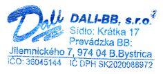 Tlačiareň Dali-BB, Banská Bystrica, Slovensko