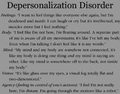 Understanding The Ins & Outs of Depersonalization Derealization Disorder - Anxiety Disorder Relationship Ocd, Relationship Addiction, Mental Disorders, Anxiety Disorder, Emotional Disorders, Depersonalization Disorder, What Is Anxiety, Anxiety Attacks Symptoms, Complex Ptsd