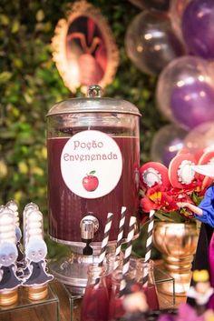 Decoração criativa   Ideias criativas   Cantinho do suco   Suqueira moderna   Poção Envenenada   Inesquecível Festa Infantil