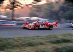 Ferrari 512 M at 1971 24 Hours of Le Mans