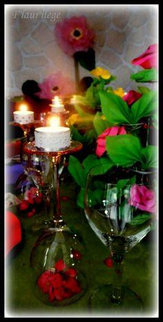 spring table ( D day) Table de printemps (jour J)  http://flaurilege.canalblog.com/archives/2014/03/30/29551698.html