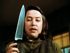 My favorite actress the awesome Kathy Bates in Misery.