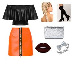 """Party"" by natasha-ditomaso on Polyvore featuring Heron Preston, WearAll, Love Moschino and Lime Crime"