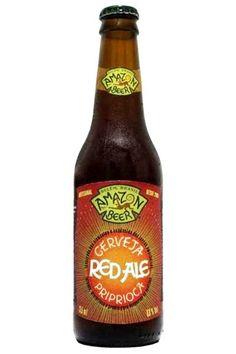Cerveja Amazon Beer Red Ale Priprioca, estilo Irish Red Ale, produzida por Amazon Beer, Brasil. 6% ABV de álcool.