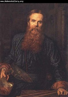 William Holman Hunt Self-Portrait
