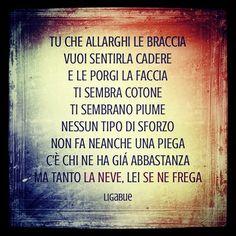 #LucianoLigabue Luciano Ligabue: #mondovisione #lanevesenefrega
