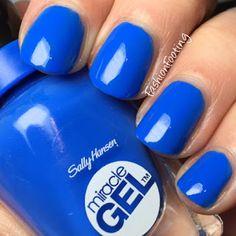 Sally Hansen Miracle Gel Byte Blue