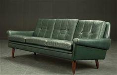 Køb og sælg sofaer - stofsofa, lædersofa, dansk design - Skipper Furniture. Tre-personers sofa, læder - DK, Roskilde, Store Hedevej
