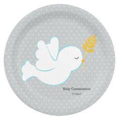 Christening dove * choose background color