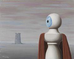 René Magritte. La belle lurette (Ages ago), 1965.