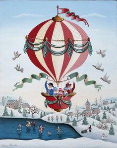 Naive Art, Winter Art, Artist, Christmas, Painting, Acrylic Paintings, Xmas, Artists, Painting Art