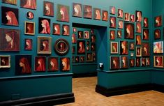 300 painted reproductions of fourth century Saint-Fabiola, collected throughout Europe and America in the last 20 years.
