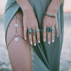 Lovin these thigh high jewels…