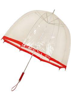 Bubble Umbrella (circa 1970s). innrømmer at jeg fremdeles er litt på utkikk etter en slik paraply: syntes de var fasinerende - og glamorøse - da jeg var liten