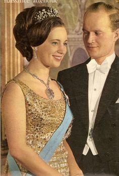 Princess Benedikte of Denmark and fiance, Prince Richard of Sayn Wittgenstein-Berleburg