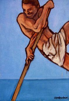 "Serie ""Descendimientos"" (2008) ""Descents"" series (2008) . . #arte #art #artwork #pintura #painting #dibujo #drawing #ilustracion #illustration #diseño #design #diseñografico #graphicdesign #oilpainting #oleo #sketch #sketchbook #doodle"