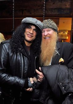 to learn about the latest music releases - Slash & Billy Gibbons Hard Rock, Axl Rose, Good Music, My Music, Heavy Metal, Ariana Grande, Billy Gibbons, Musica Pop, Zz Top