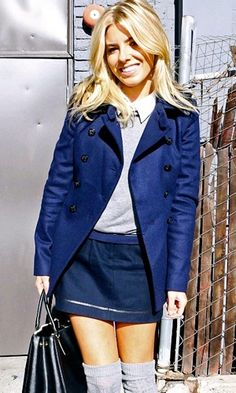 Mollie King at The Today Show - My Month By Mollie King