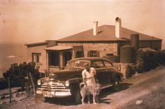 Stone house circa 1950 Time And Tide, Cape Town, South Africa, Past, Cottage, Stone, History, Photos, Outdoor