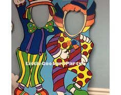 Clown Photo Booth Prop Cutout and Balloon Holder . Circus Stand-in Carnival Birthday Party . Clown Photo Booth Prop Cutout and Carnival Themed Party, Carnival Birthday Parties, Circus Birthday, Circus Party, Party Props, Party Themes, Carnival Games, Ideas Party, Balloon Birthday