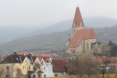 Austrian village along the Danube.