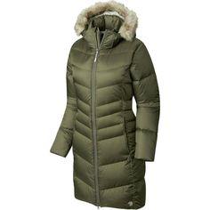Mountain Hardwear - Downtown Down Coat - Women's - Stone Green