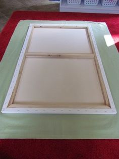 How to make your own Felt board....would be great to have smaller ones to use with small group