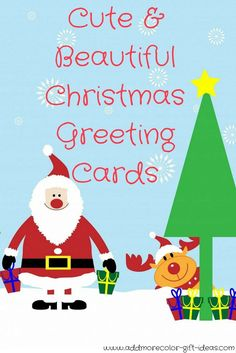 Find the best boxed christmas cards and other amazing Christmas cards to send to family and friends