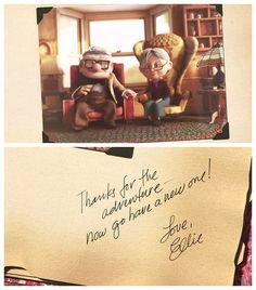 """So sad but love this part of the movie so much! I received an """"our adventure book"""" for an anniversary gift before :)"""