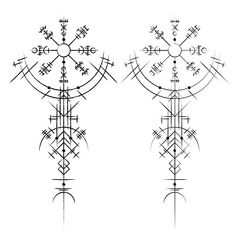 Find Black Abstract Viking Magic Symbols Isolated stock images in HD and millions of other royalty-free stock photos, illustrations and vectors in the Shutterstock collection. Thousands of new, high-quality pictures added every day. Viking Rune Tattoo, Norse Tattoo, Celtic Tattoos, Viking Tattoos, Viking Compass Tattoo, Viking Tattoo Sleeve, Celtic Tattoo Symbols, Armor Tattoo, Warrior Tattoos