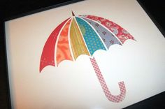 umbrella made with scraps
