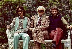 Ossie Clark, David Hockney, and RB Kitaj