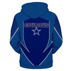 3e7a7d6c800 Dallas Cowboys Hoodie 3D Football Sweatshirt Pullover NFL