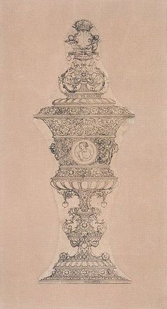Design for a cup for Jane Seymour by Hans Holbein and his workshop. This cup was given to Jane Seymour as a wedding gift. Tudor History, British History, Art History, Wives Of Henry Viii, King Henry Viii, Anne Of Cleves, Anne Boleyn, Birthday Gifts For Girlfriend, Gifts For Wife