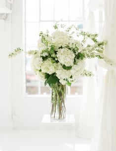 Modern White Loft Wedding at Studio 450 Floral Crown Wedding, Beach Wedding Flowers, Bridal Flowers, Bridal Bouquets, Wedding Arrangements, Wedding Centerpieces, Wedding Decorations, White Floral Arrangements, Quinceanera Centerpieces