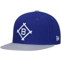 8a5af3d3c79 Brooklyn Dodgers New Era Cooperstown Collection Secondary Side 9FIFTY  Snapback Adjustable Hat - Navy