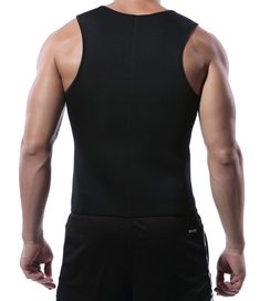 Amazon.com : MISS MOLY Men Slimming Shirt Black Neoprene Shaper Vest Hot Sweat Workout Tank Top for Weight Loss (S, Blue Sauna Suits) : Sports & Outdoors