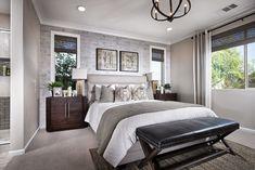 Master Bedroom at Daybreak Plan 1 | Pardee Homes Inland Empire