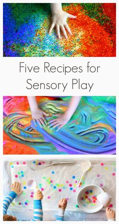 DIY All Things: Five Recipes for Sensory Play