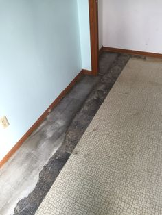 Interior Drain Tile System in Edina    Affordable Egress Windows & Basement Waterproofing LLC. 763-267-3891