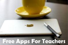 Free Apps For Teachers | Rachel K Tutoring Blog