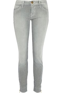 The Quartermaster striped mid-rise skinny jeans | THE OUTNET