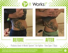 Check out these ultimate results from using a combination of our products! lbpalmer.itworks.com Call or Text 870-490-0258