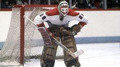 old school hockey goalies Hockey Goalie, Hockey Teams, Hockey Stuff, Montreal Canadiens, Ken Dryden, Goalie Mask, National Hockey League, Nhl, Old School